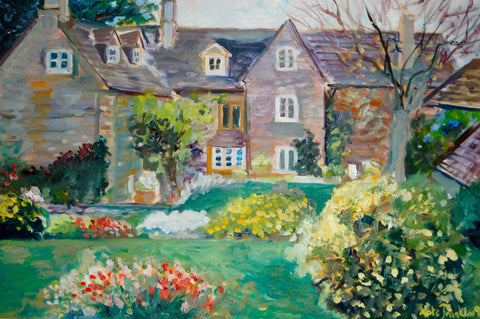 Notecards-Cotswold Manor, 100# card stock