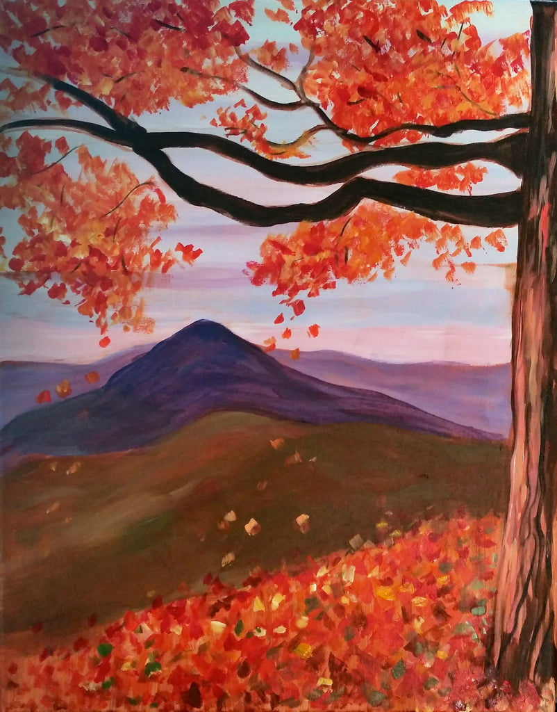 "Oct 25, Wed, 5-7pm, ""Fall at Mt. Equinox"""