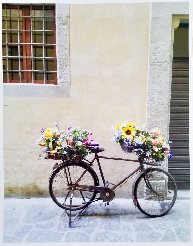 Photos of Italy- Flower Bike