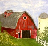 "September 23, Sat, 6-8pm ""Red Barn"""
