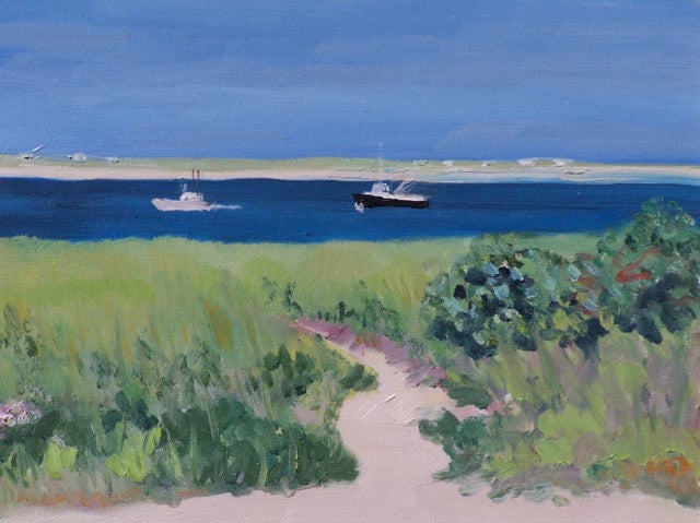 Notecard-Chatham Boats, Cape Cod