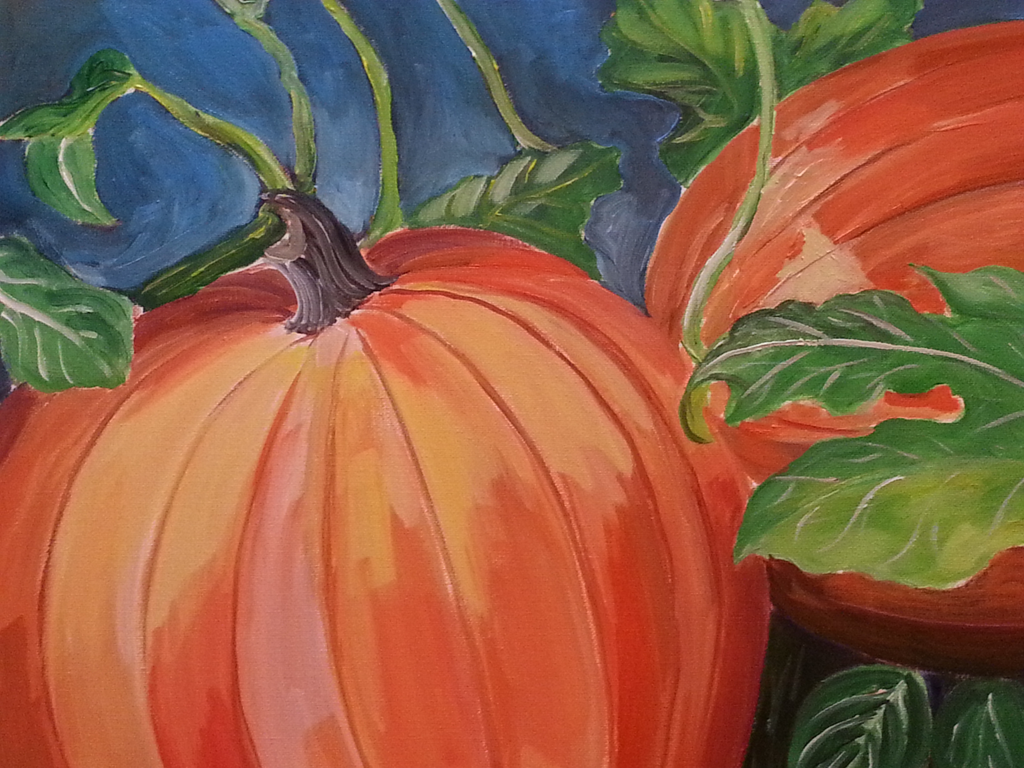"October 4, Sat 2-4pm ""Pumpkins"""