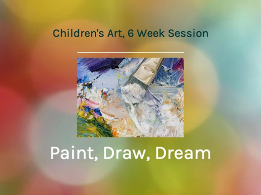 "Sundays 5-7pm, Jan 18- Feb 22, 2015 ""Children's 6 Week Art Course"""