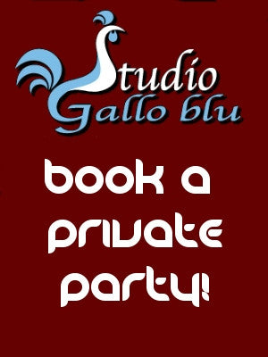 "Sept 28, Sun, 2-4pm ""Book a Private Party"""
