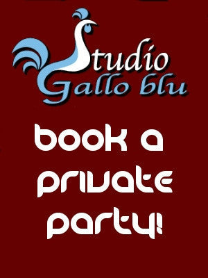 "Oct 13, Monday, 7-9pm, ""Book a Private Party"""