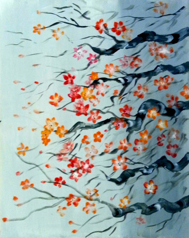 "Oct 5, Sun, 2-4pm, ""Cherry Blossoms"" Public Class"