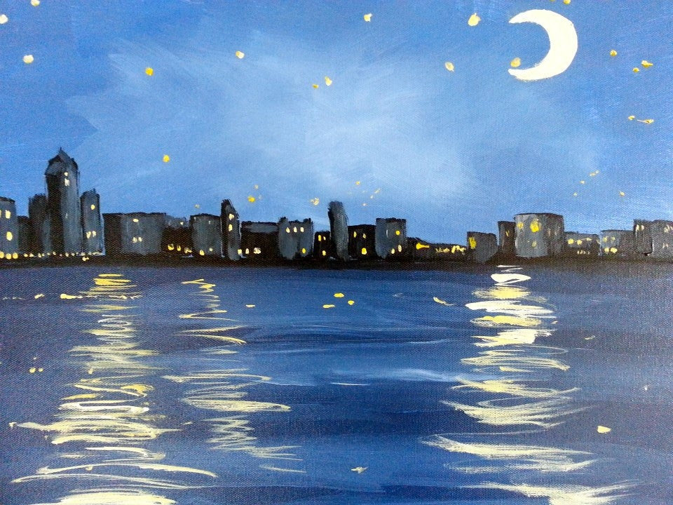 "Sept 24, Wed, 7-9pm, ""Moonlight Magic"" Public Class"
