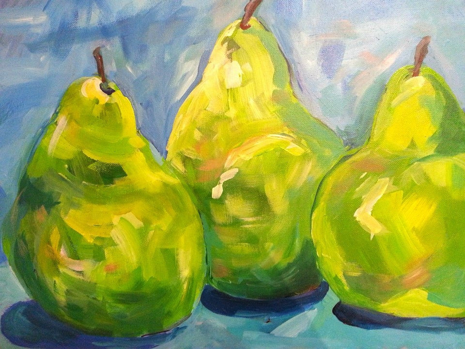 "Sept 3, Wed, 7-9pm, ""Three Pears"" Public Class"