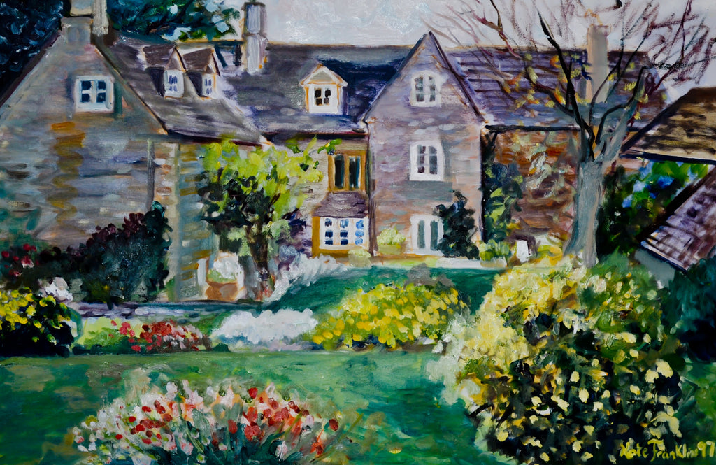 Notecards-Cotswold Manor, 80# card stock
