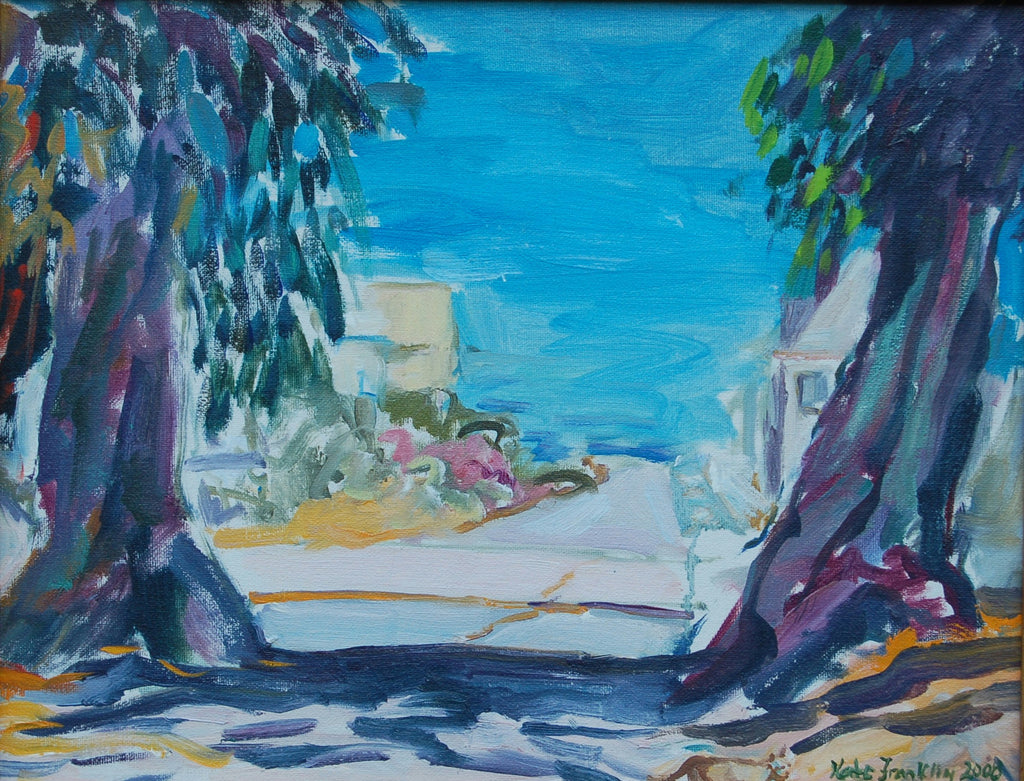 Notecard-La Marsa by the Sea