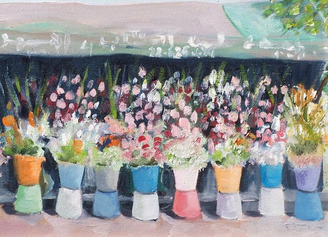 Notecard-Flower Market