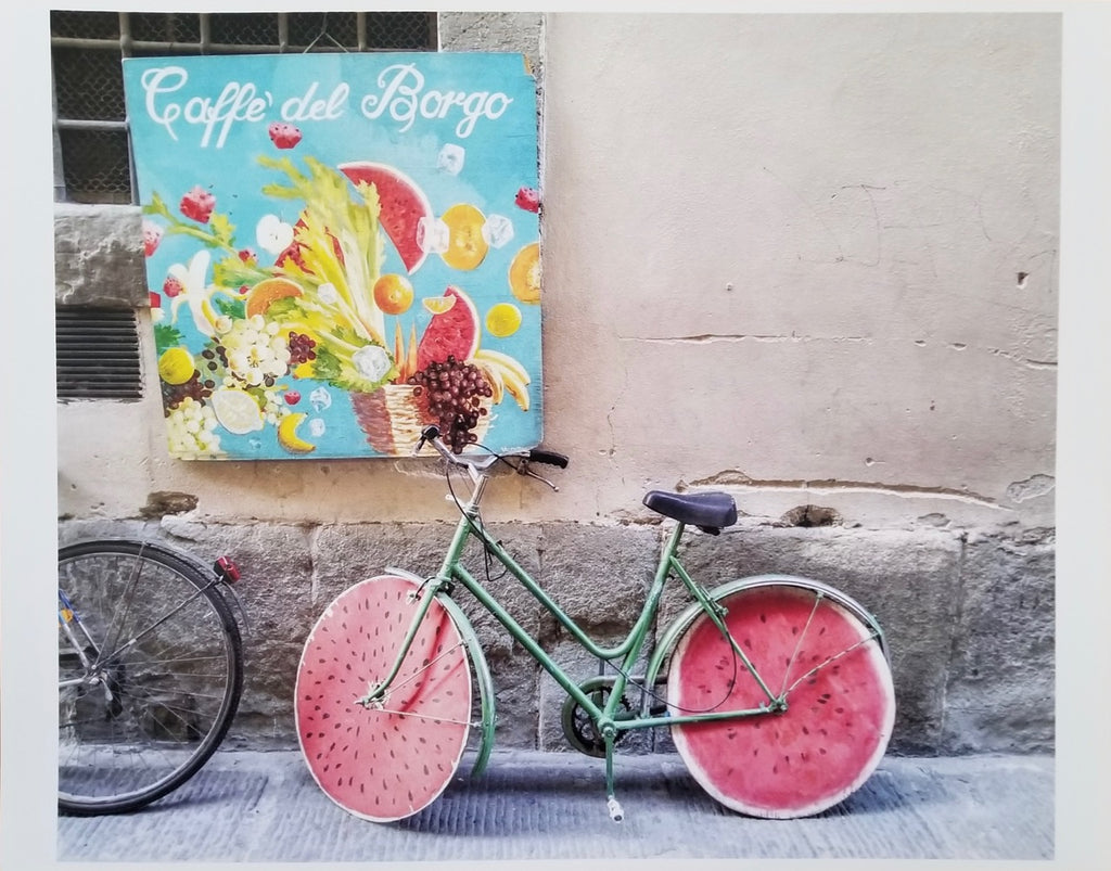 Photos of Italy- Watermelon Bike