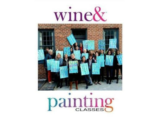 Two-hour amateur painting class Gift Certificate, $35