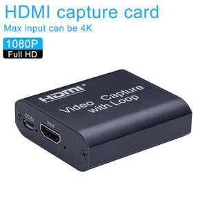 4K HDMI Video Capture Card