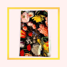 Load image into Gallery viewer, Flower and Vegetables Galore print panama cotton napkins - 1 piece with a minimum order of 20 pieces - Pre order now