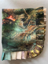 Load image into Gallery viewer, Dutch forest print panama cotton napkins - 1 item with a minimum order of 2 - Ready to ship