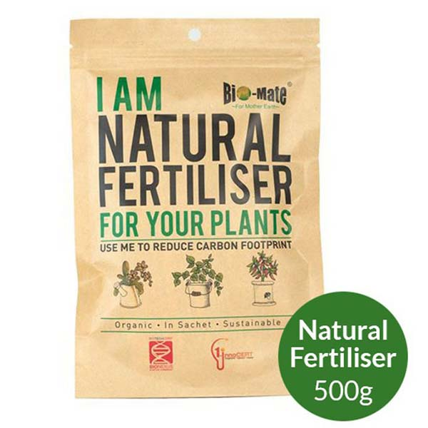 BIO-MATE NATURAL FERTILIZER N5P5K5 (ALL GENERAL FERTILISER) 5 x 500GM