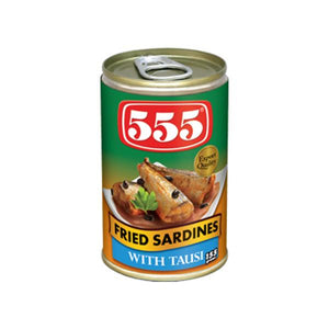 555 FRIED SARDINES WITH TAUSI 155GM - ANA Investment Pvt Ltd