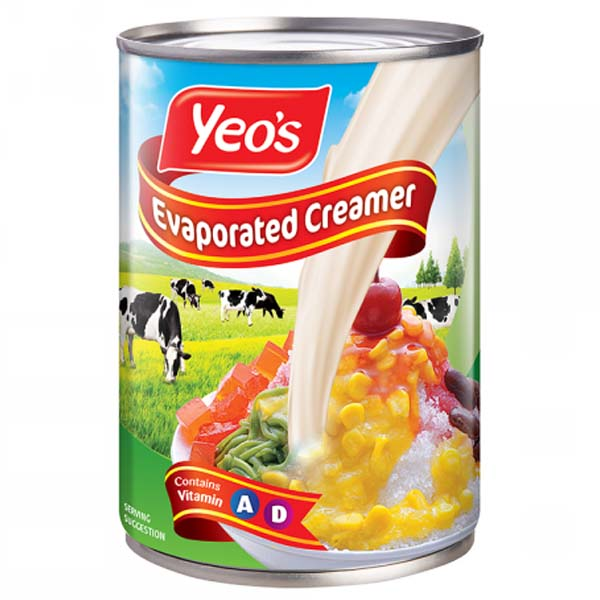 EVAPORATED CREAMER 390G - 48 x 390GM