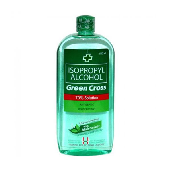 GREEN CROSS ISOPROPLY WITH MOISTURIZER 500ML - ANA Investment Pvt Ltd