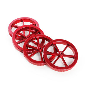 Creality3D 4PCS Metallic Red Upgraded Large Size Leveling Nut for Printing Platform