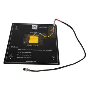 12V Heater Bed Aluminum Hotbed Board With Cable 310x310mm Installed well for CR-10 CR-10S
