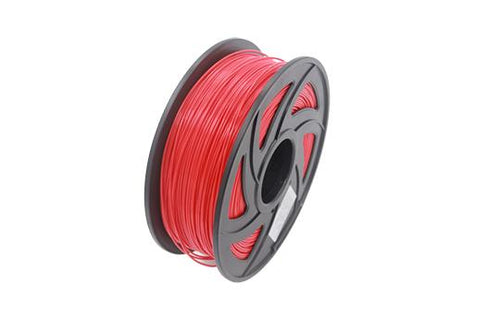 PLA 3D Printer Filament, 1.75mm, 1kg Spool, Red
