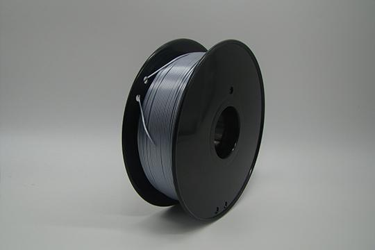 PLA 3D Printer Filament, 1.75mm, 1kg Spool, Silk Silver