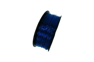 Flexible TPU 3D Printer Filament, 1.75mm, 0.8kg Spool, Transparent Blue