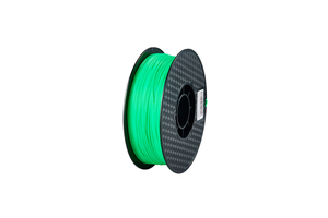 PLA 3D Printer Filament, 1.75mm, 1kg Spool, Fluorescent Green