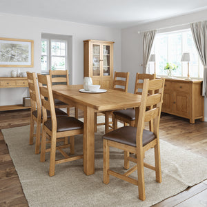 Needing a new dining table & chairs set? Visit our skipton store to see the full range of quality, traditional & modern dining furniture at The Home Company
