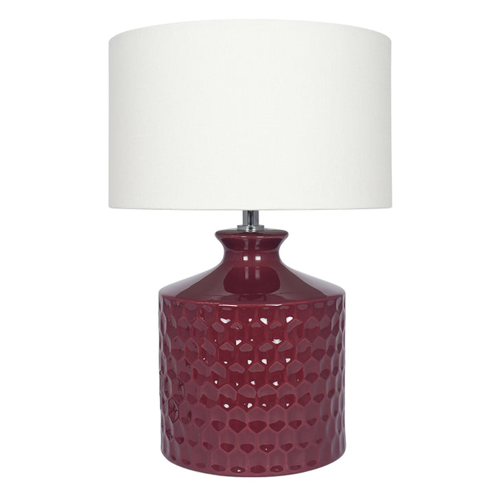 Asher Table Lamp - Raspberry
