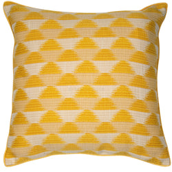 Sunrise Mustard Yellow Cushion