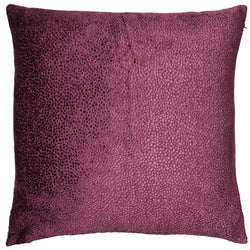 Bingham Wine Soft Textured Cushion