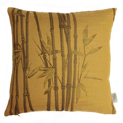 The Chateau Bamboo Cushion Ocre