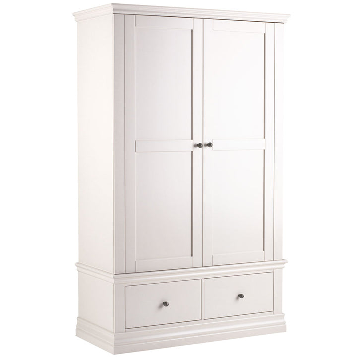 Chamonix Double Wardrobe Over 2 Drawers