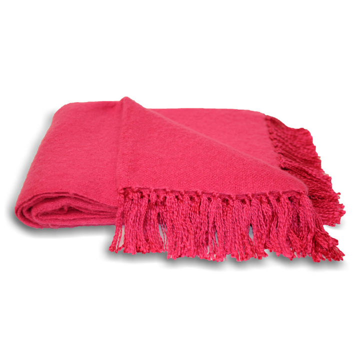 Chiltern Throw - Fuchsia Pink