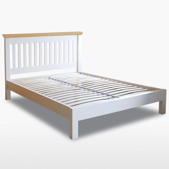 Coelo Wood Top Slat Bed Low Foot End