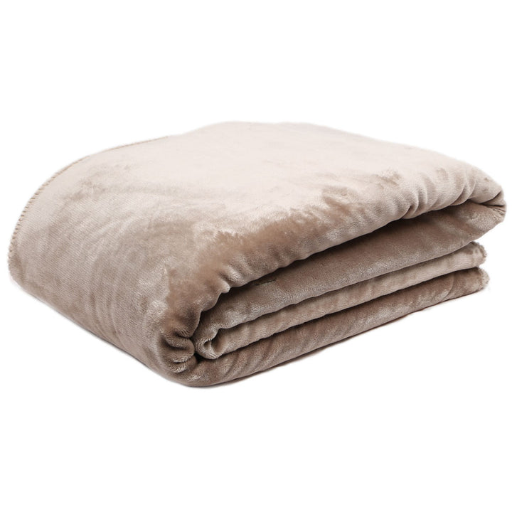 Cosy Throw - Taupe