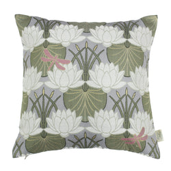 The Chateau Lillypad Cushion Grey The Home Company Skipton