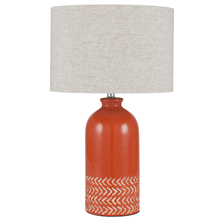Paprika Ceramic Table Lamp