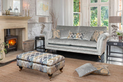3 seat french inspired style sofa skipton