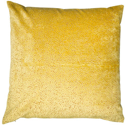 Bingham Mustard Soft Textured Cushion