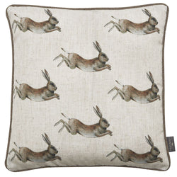 Juniper Mini Hares Pattern Cushion