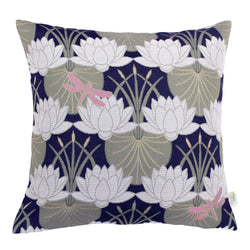 The Chateau Lillypad Cushion Navy The Home Company Skipton