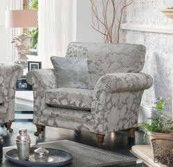 Beautiful winged French inspired Armchair Sofa shop skipton