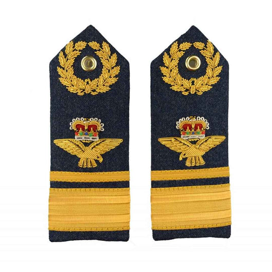 Air Vice Marshal – Shoulder Board Epaulette - Royal Air Force Regiment - Royal Air Force Badge