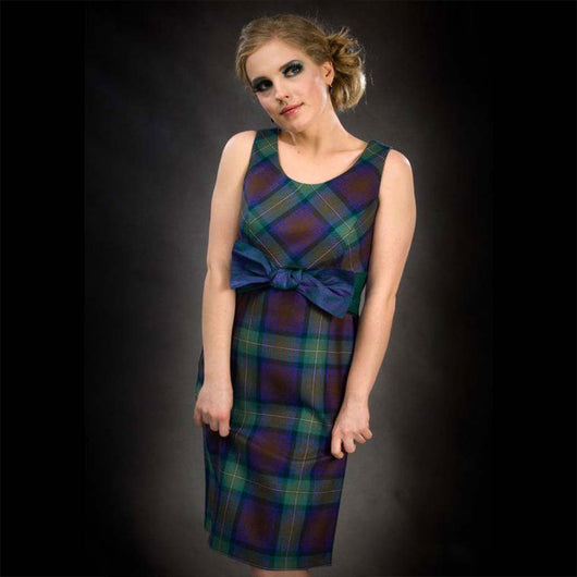 Ariadne Tartan Dress