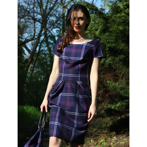 Coco Tartan Dress