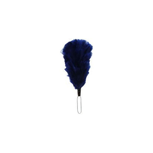 Dark Blue 5 Inch Feather Hackle 12 PCS